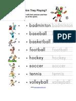 SportsMatchingandWriting.doc