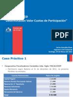 Cálculo Cuotas de Participación