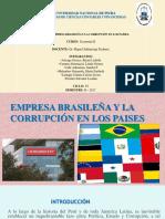 Empresa Brasileña y La Corrupción en Los Paises