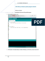 Cara Menambahkan File Library Arduino Pada Program Sketch Arduino