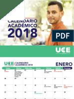 Calendario Uce 2018