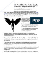 The Undeniable Proof That the Fallen Angels the Sons of God Ravaged Humanity