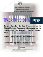 Trabajo de Dilpoma de Carlos v Carralero Neyra