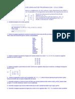 Cuarta Practica de Lenguaje de Programacion