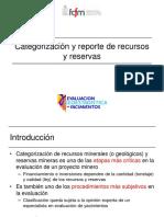 Códigos Internacionales y Categorización de Recursos y Reservas Mineras (1)