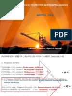 Primeras Clases Unidad i Agosto de 2016 Evalución Económica de Proyectos Unidad 01 (1)
