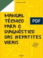 Manual Diagnóstico Hepatites Viras Ministerio Da Saúde 2015