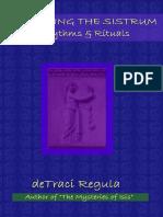 Sounding the Sistrum - DeTraci Regula