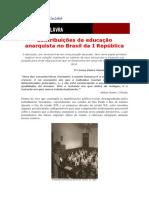 Luíza Vieira Maciel __Contribuições Da Educação Anarquista No Brasil Da I República