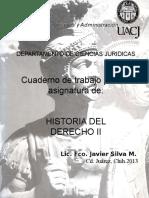 Cuaderno Historia II (Bueno)
