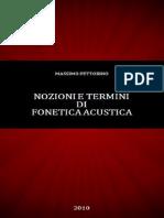 Pettorino M.-nozioni e Termini Di Fonetica Acustica
