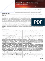 Ag-nanoparticle-based Nano-immunosensor for Anti-glutathione S-transferase Detection (Biointerface Research)