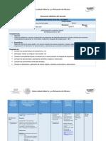 Planeación Didáctica Programación NET I Unidad I