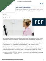 Los 4 Principios Del Lean Time Management _ Randstad