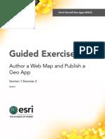 Section1Exercise2-AuthoraWebMapandPublishaGeoApp