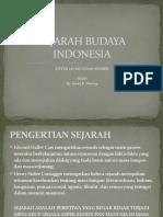 Sejarah Budaya Indonesia