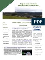 Boletìn de Recursos Documentales No. 1 2016