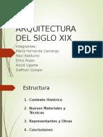 Arqui Siglo Xix