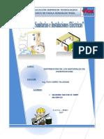 Inst. Sanitarias y Electricas