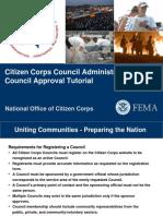 Citizen Corps Council Admin Guide