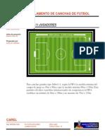 Reglamento de Canchas de Futbol 2