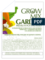 Brochure Growmixgarden Sustratos Premium