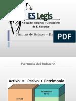 Tratamiento de Cuentas de Balance y Resultados