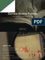 Portfolio Daniela Alvarez Fanego