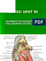 Degenerative Disorders of the Cardiac System