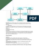 disciplines in Human factors