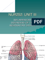 Inflammatory Disorders of the Respiratory System
