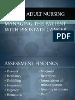Managing Prostate Cancer