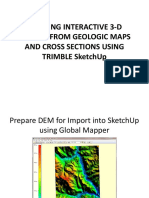 Creating Interactive 3-d Models From Geologic Maps and (1)