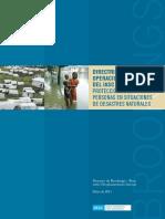 Directrices Operacionales Del IASC Sobre La Proteccion de Las Personas en Situaciones de Desastres Naturales (1)