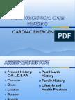 NURS445 Cardiac Emergencies1