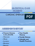 NURS445 Cardiac Emergencies1