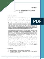 5 Análisis de Modos y Efectos de Falla (FMEA)
