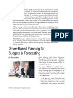 Driver Based Planning