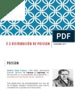 2.3 Distribución de Poisson_01_12_2017.pptx