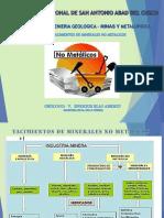 Curso Yacimientos de No Metálicos (Proyecciones)