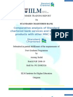 Anurag Project Report on standard chartered