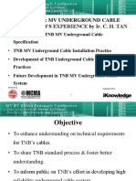 Session 12 - TNB Experience