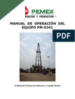 Manual Operacion Pm-341