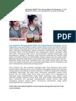 Telah Ditemukan Jual Suplemen Peninggi Badan NHCP Tiens Harga Murah Di Bandung & Aman