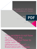 DISABILITY OF INDIA