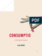 (Consumption and Public Life) Alan Warde (Auth.)-Consumption_ a Sociological Analysis-Palgrave Macmillan UK (2017)
