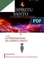 Biblelieve - Lección 4 La Personalidad Del Espíritu Santo