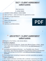 ARCHITECT Agreement
