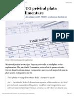 Proiect | OUG privind plata orelor suplimentare – fsanp.ro