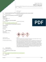 WCP 2 Safety Data Sheet English